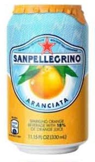 San Pellegrino Orange Can 24x330ML