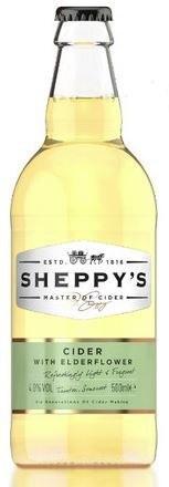 Sheppy's Cider With Elderflower 500ML
