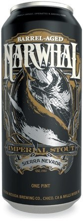Sierra Nevada Barrel Aged Narwhal Can 473ML