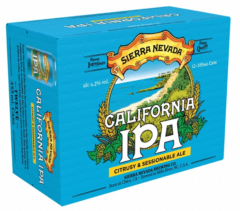 Sierra Nevada Califonia IPA12x355ML Can Pack