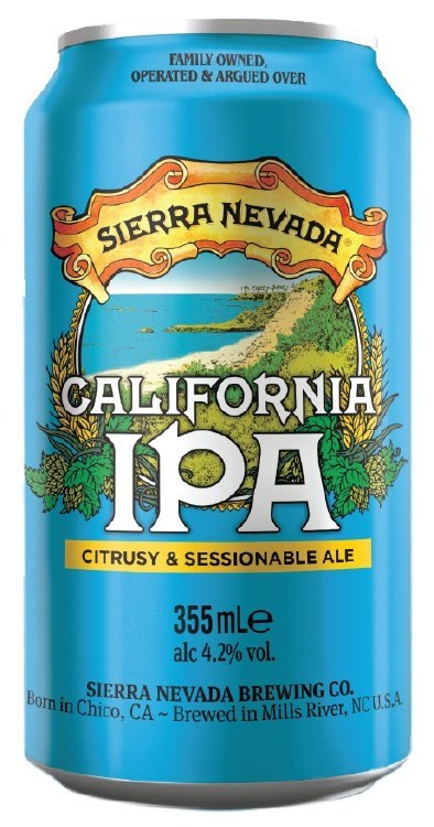 Sierra Nevada California IPA Can 355ML