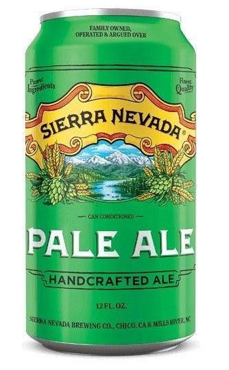 Sierra Nevada Pale Ale Can Case 24x355ML