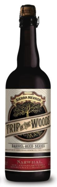 Sierra Nevada 'Trip In The Woods' Barrel Aged Narwhal With Currants 750ML