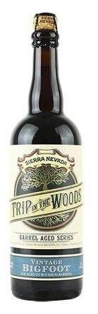 Sierra Nevada 'Trip In The Woods' Vintage Bigfoot 750ML