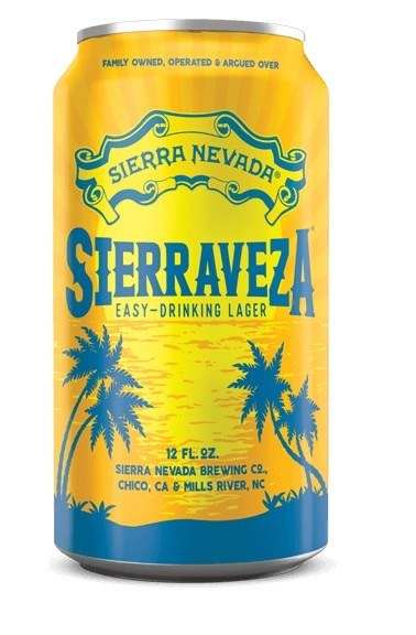 Sierraveza Lager Can 355ML