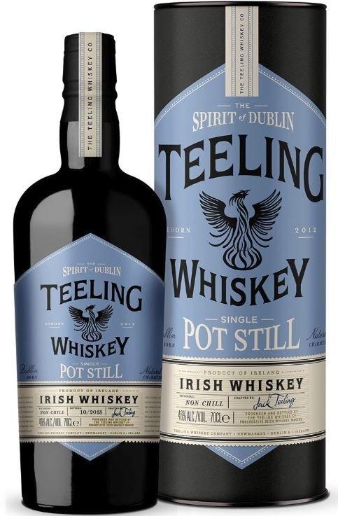 Teeling Dublin Single Pot Still B2: 01/2019 700ML