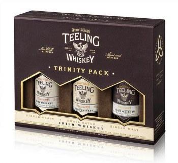 Teeling Trinity Gift Pack 3 x 50ML