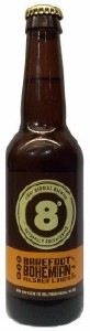 Eight Degrees Barefoot Bohemian Lager 330ML