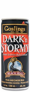 Goslings Dark'n Stormy Can 250
