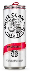 White Claw Hard Seltzer Raspberry 330ML