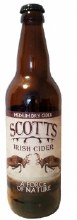 Scotts Medium Dry Cider 500ML
