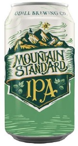 Odell's Mountain Standard IPA Can 355ML