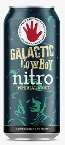 Left Hand Galactic Cowboy Nitro Umperial Stout Can 404ML