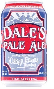 Oscar Blues Dale's Pale Ale Can 355ML