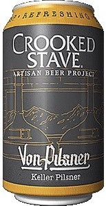 Crooked Stave Von Pilsner Can 355ML