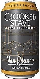 Crooked Stave Von Pilsner Can 355ML