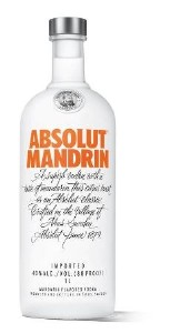 Absolut Mandrin Vodka 700ML