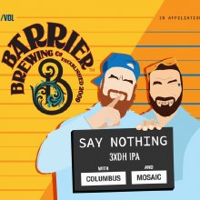 Barrier Say Nothin IPA 473ML