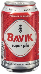 Bavik Super Pils Can 24x350ML