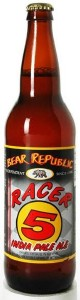 Bear Republic Racer 5 IPA 'Bomber' 650ML