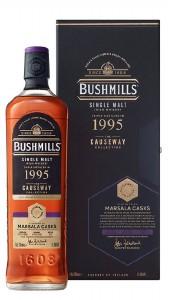 Bushmills 1995  'Causeway Collection' Marsala cask