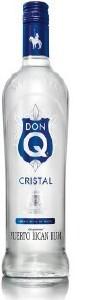 Don Q Cristal Rum 700ML