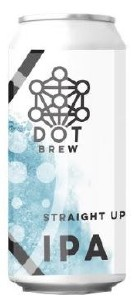 Dot Brew Straight Up IPA Can