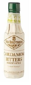 Fee Brothers Cardamon Bitters 150ML