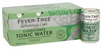 Fever Tree Elderflower Tonic Water Can Pack 8x150ML