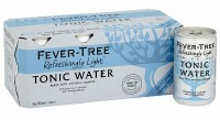 Fever Tree Light Indian Tonic Water Can Pack 8x150ML