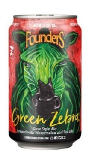 Founders Green Zebra Can 355ML