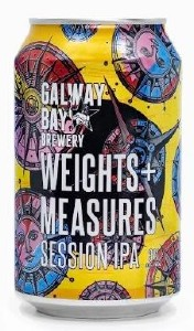 Galway Bay Weights & Measures Can 330ML
