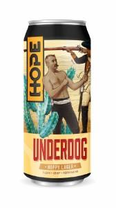 Hope Beer Underdog Hoppy Lager Can 440ML