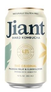 Jiant The Original Passionfruit & Elderflower Hard Kombucha 355ML