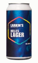 Larkins Helles Lager Can 440ML