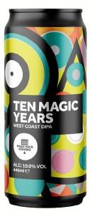 Magic Rock Ten Magic Years Can 440ML