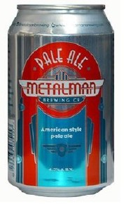Metalman Pale Ale Can 24x330ML (Case Only)