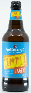 Porterhouse Temple Lager 500ML