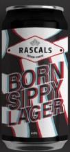 Rascal's Born Slippy Lager Can 440ML