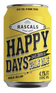 Rascal's Happy Days Pale Ale Can 330ML