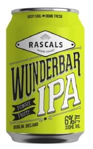Rascal's Wunderbar IPA Can 330ML