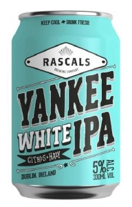 Rascal's Yankee White IPA Can 330ML