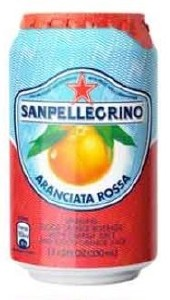 San Pellegrino Blood Orange Can 24x330ML