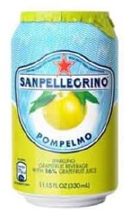 San Pellegrino Grapefruit Can 24x330ML
