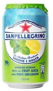 San Pellegrino Lemon & Mint Can 24x330ML