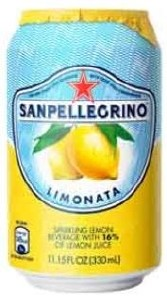San Pellegrino Lemon Can 24x330ML
