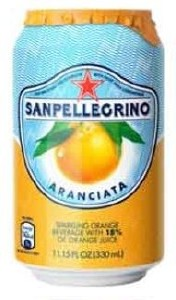 San Pellegrino Orange Can 24x330ML