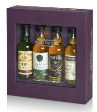 Single Pot Still Minature Irish Whiskey Selection Pack