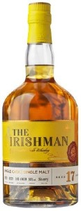 The Irishman 17 Year Old Single Cask Single Malt 700ML