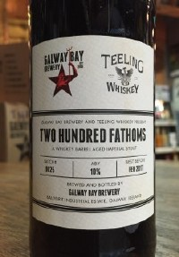 Galway Bay Brewery Two Hundred Fathoms 2018 500ML